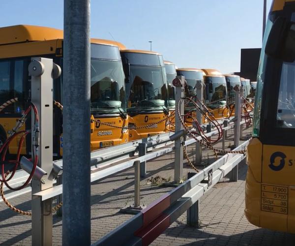 Busser tanker kvadratisk